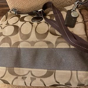 Coach file bag